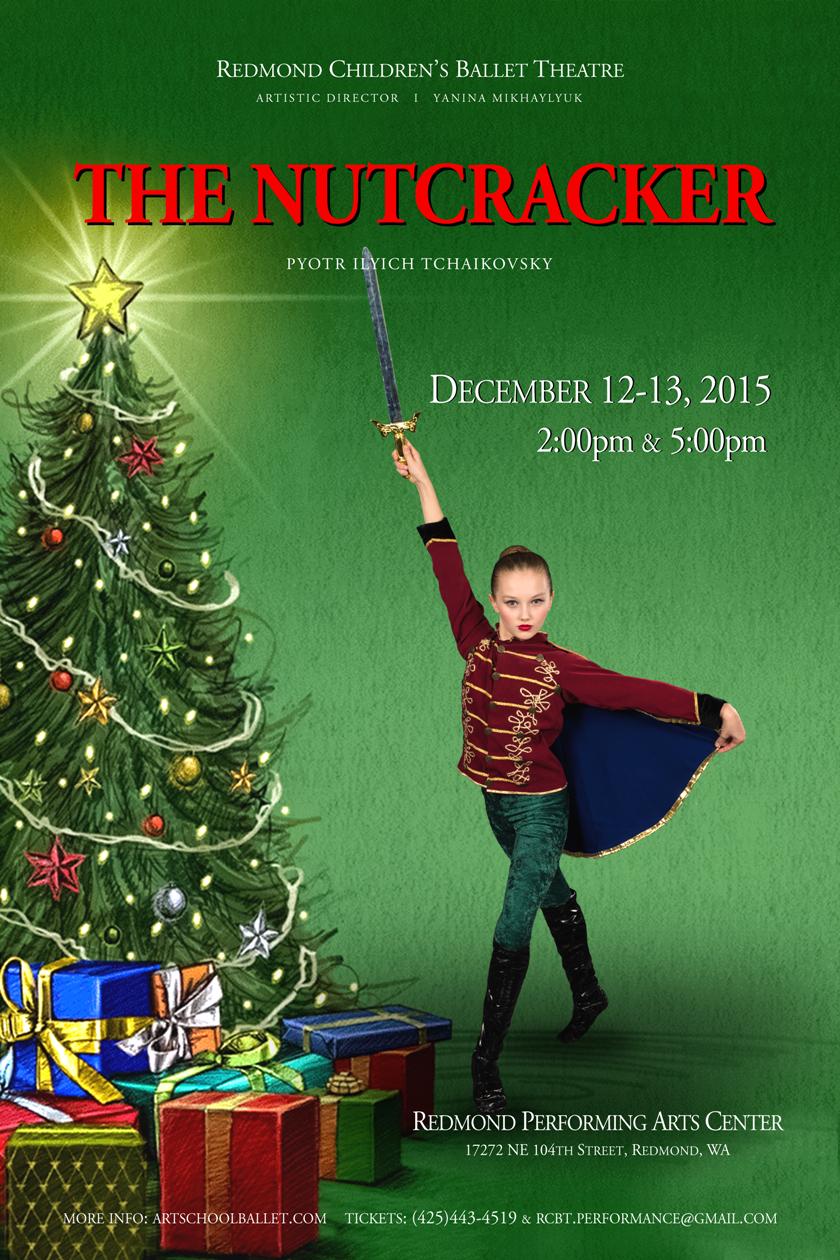 The Nutcracker 2015 Poster 840x1260
